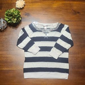 Justice 3/4 sleeve top